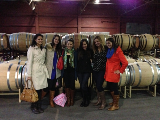 Private wine tasting at a San Francisco winery