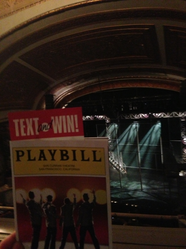 Excited for the show to begin!