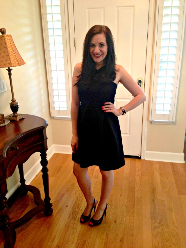 Dress: Banana Republic, Shoes: Nine West, Bracelet: Forever 21