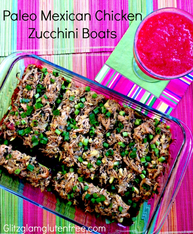 Mexican Zucchini Boats GGGF
