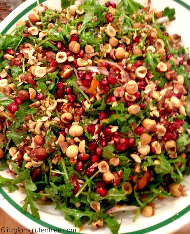 Persimmon Pom Salad